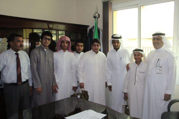 الفائزين في مسابقة ملتقى شباب مكة المكرمة