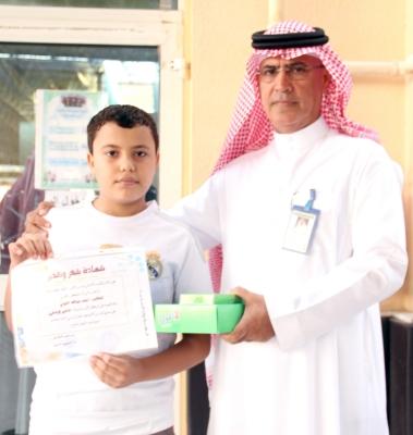 المركز الأول في مسابقة التعبير الابداعي على مستوى المدارس الأهلية