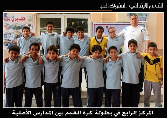 بطولة كرة القدم بين المدارس الأهلية (الصفوف العليا)