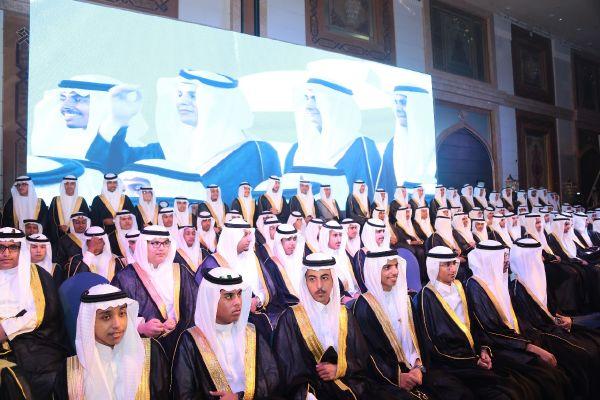 حفل تخريج الدفعة السادسة عشرة ( قادة المستقبل ) بالقسم الثانوي