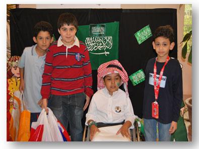 زيارة جمعية الأطفال المعوقين – الصفوف الأولية