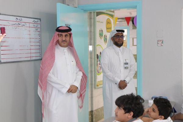 زيارة مدير وحدة التوجيه والارشاد بإدارة تعليم جدة