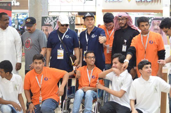 فعاليات ملتقى مبادر التطوعي