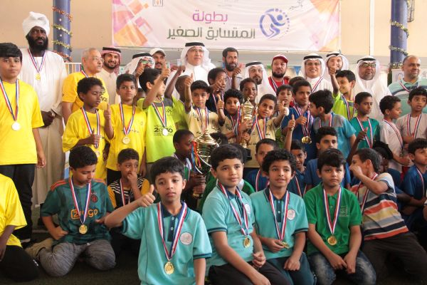 مشاركة الطلاب في مسابقة البطل الصغير _ الصفوف المبكرة