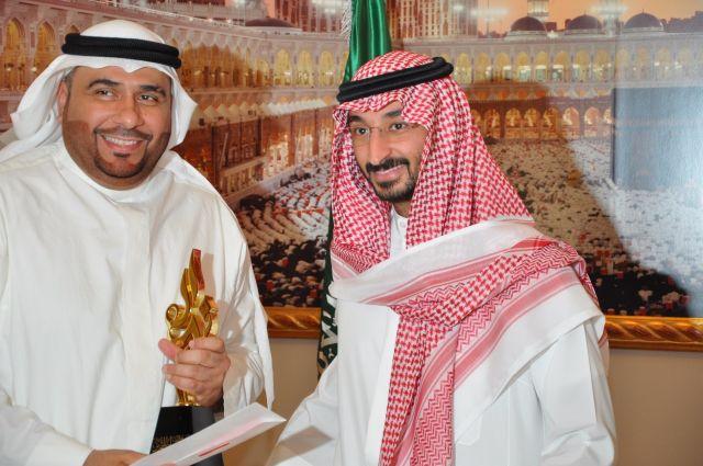 نائب أمير منطقة مكة المكرمة يكرم الفائزين بجائزة وزارة التعليم للتميز