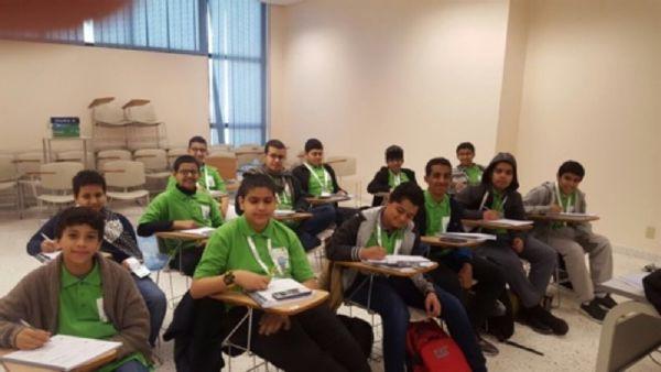 يزيد المالكي يمثل القسم المتوسط بملتقى الشتاء للطلبة الموهوبين